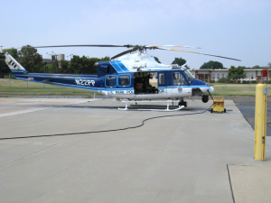 NPP Helicopter, gettin\' ready to sound like a Huey.