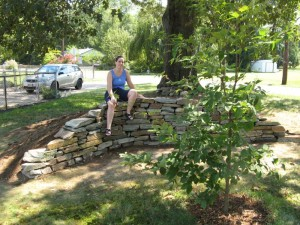 Look what you can do with 6000 pounds of stone, a good mason's hammer, and two weekends.