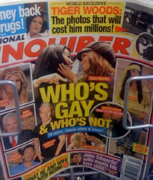 Next up: Who's gay?